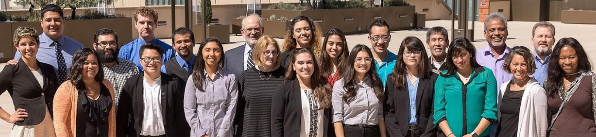 UC Davis students at the 2017 UC LEADS Research Symposium